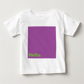 こんにちは ベビーTシャツ