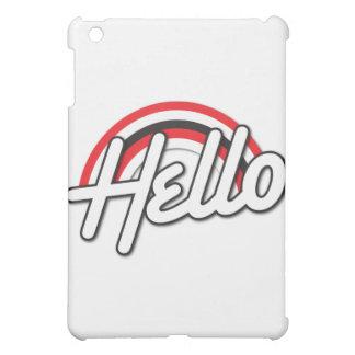 こんにちは! ロカビリーの虹 iPad MINIケース