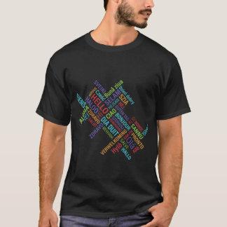 こんにちは(多くの言語) Tシャツ