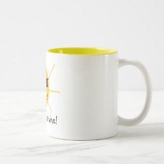 こんにちは、日光! ツートーンマグカップ