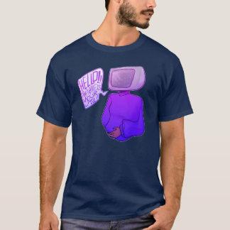 こんにちは、私の名前はあなたのTVです Tシャツ