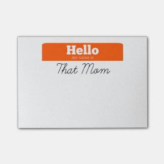 こんにちは、私の名前はことお母さんのポスト・イットです ポストイット