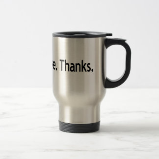 こんにちは。 私は気になりません。 ありがとう トラベルマグ
