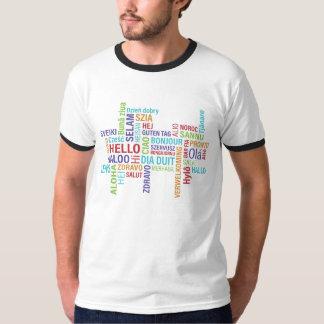 こんにちは(言語) Tシャツ