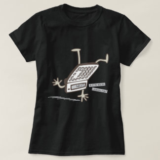 こんにちは(逆さまの計算機のトリック)おもしろいなグラフィック Tシャツ