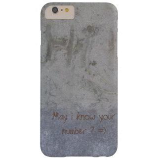 こんにちは、5月私はあなたの数を知っていますか。 =) BARELY THERE iPhone 6 PLUS ケース