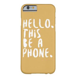 こんにちは BARELY THERE iPhone 6 ケース