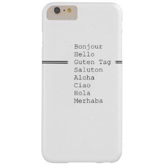 こんにちは BARELY THERE iPhone 6 PLUS ケース