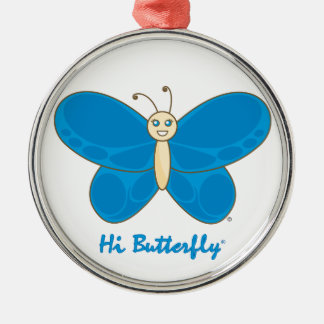 こんにちはButterfly®のオーナメント メタルオーナメント