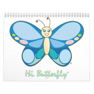 こんにちはButterfly®のカレンダー カレンダー