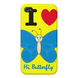 こんにちはButterfly®のiphone 4ケース iPhone 4 カバー