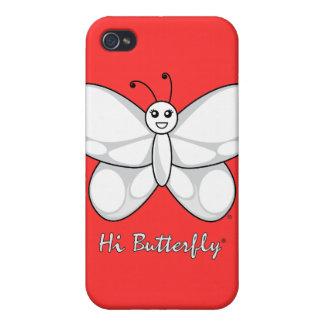 こんにちはButterfly®のiphone 4ケース iPhone 4/4Sケース