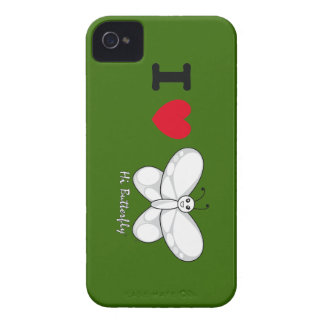 こんにちはButterfly®のiPhone 4/4Sのカスタムな穹窖ID™ Case-Mate iPhone 4 ケース