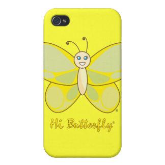 こんにちはButterfly®のiPhone 4/4Sの場合 iPhone 4 ケース