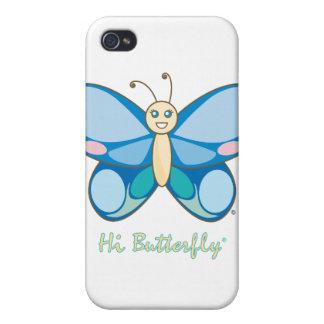 こんにちはButterfly®のiPhone 4/4Sの場合 iPhone 4/4Sケース
