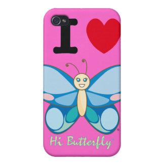 こんにちはButterfly®のiPhone 4/4Sの場合 iPhone 4/4S Case