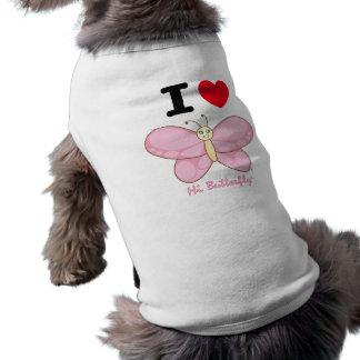 こんにちはButterfly®犬のタンクトップ ペット服