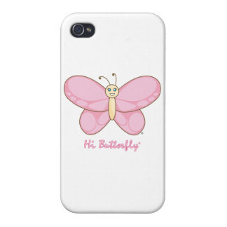 こんにちはButterfly® iPhone 4/4Sケース