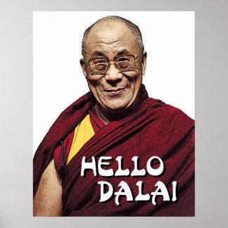 こんにちはDalaiポスター ポスター
