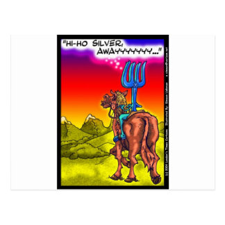 こんにちはHo銀か。 おもしろいの単独レーンジャーのパロディの漫画のギフト ポストカード