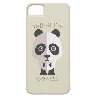 こんにちはImパンダ iPhone SE/5/5s ケース