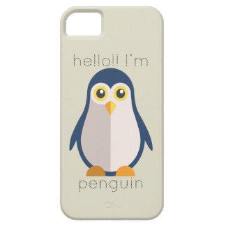 こんにちはImペンギン iPhone SE/5/5s ケース