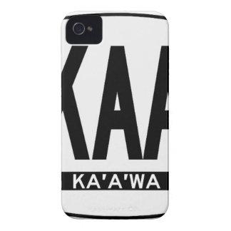 こんにちはKaaawaステッカー Case-Mate iPhone 4 ケース