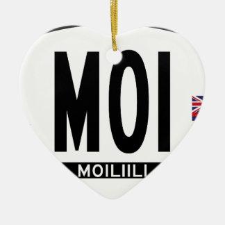 こんにちはMOILIILIステッカー セラミックオーナメント
