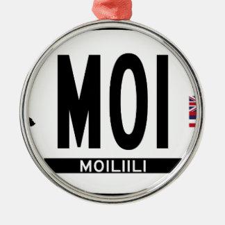こんにちはMOILIILIステッカー メタルオーナメント
