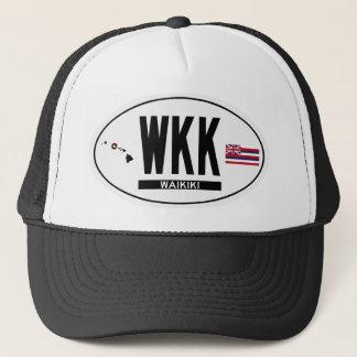 こんにちはWAIKIKIステッカー キャップ
