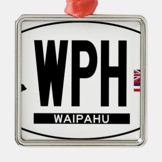 こんにちはWAIPAHUステッカー メタルオーナメント