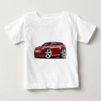 ごまかしのマグナムびんのあずき色車 ベビーTシャツ