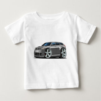 ごまかしのマグナムびんの灰色車 ベビーTシャツ