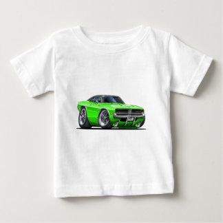 ごまかしの充電器のライム車 ベビーTシャツ