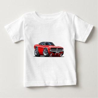 ごまかしの充電器の赤車 ベビーTシャツ