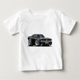 ごまかしの充電器の黒車 ベビーTシャツ
