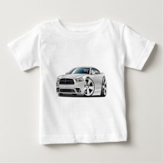 ごまかしの充電器RTの白車 ベビーTシャツ