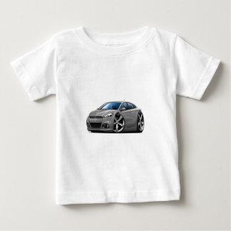 ごまかしの投げ矢の灰色車 ベビーTシャツ