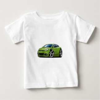 ごまかしの投げ矢の緑車 ベビーTシャツ