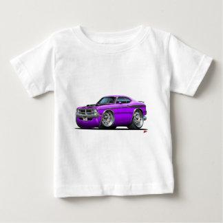 ごまかしの鬼の紫色車 ベビーTシャツ