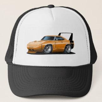 ごまかしのDaytonaのオレンジ車 キャップ