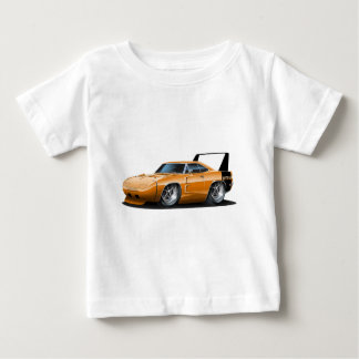 ごまかしのDaytonaのオレンジ車 ベビーTシャツ