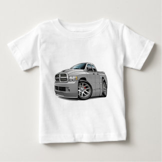ごまかしSRT10のラムのDualcabの灰色 ベビーTシャツ