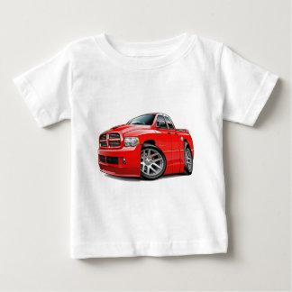 ごまかしSRT10のラムのDualcabの赤 ベビーTシャツ