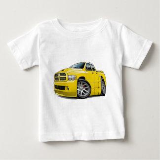 ごまかしSRT10のラムのDualcabの黄色 ベビーTシャツ