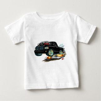 ごまかしSRT10の黒いトラック ベビーTシャツ