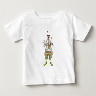 ごまかすピエロ ベビーTシャツ