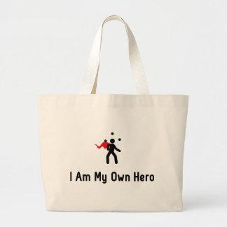 ごまかす英雄 ラージトートバッグ