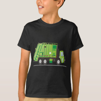 ごみ収集車 Tシャツ