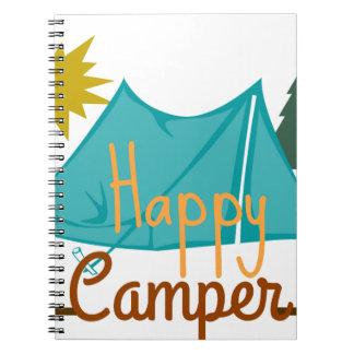 ご機嫌な人のテントのアウトドア ノートブック